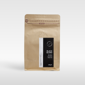 Kawa ziarnista 50 % arabika 50 % robusta z Brazylii i Indii Black Blend Coffee Journey