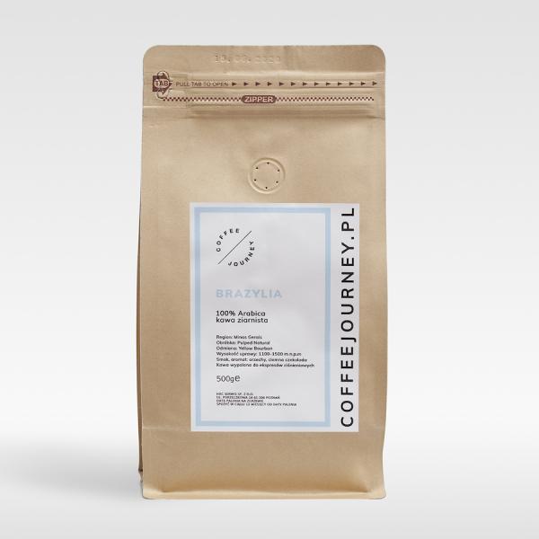 Kawa ziarnista 100% arabika z Brazylii Coffee Journey