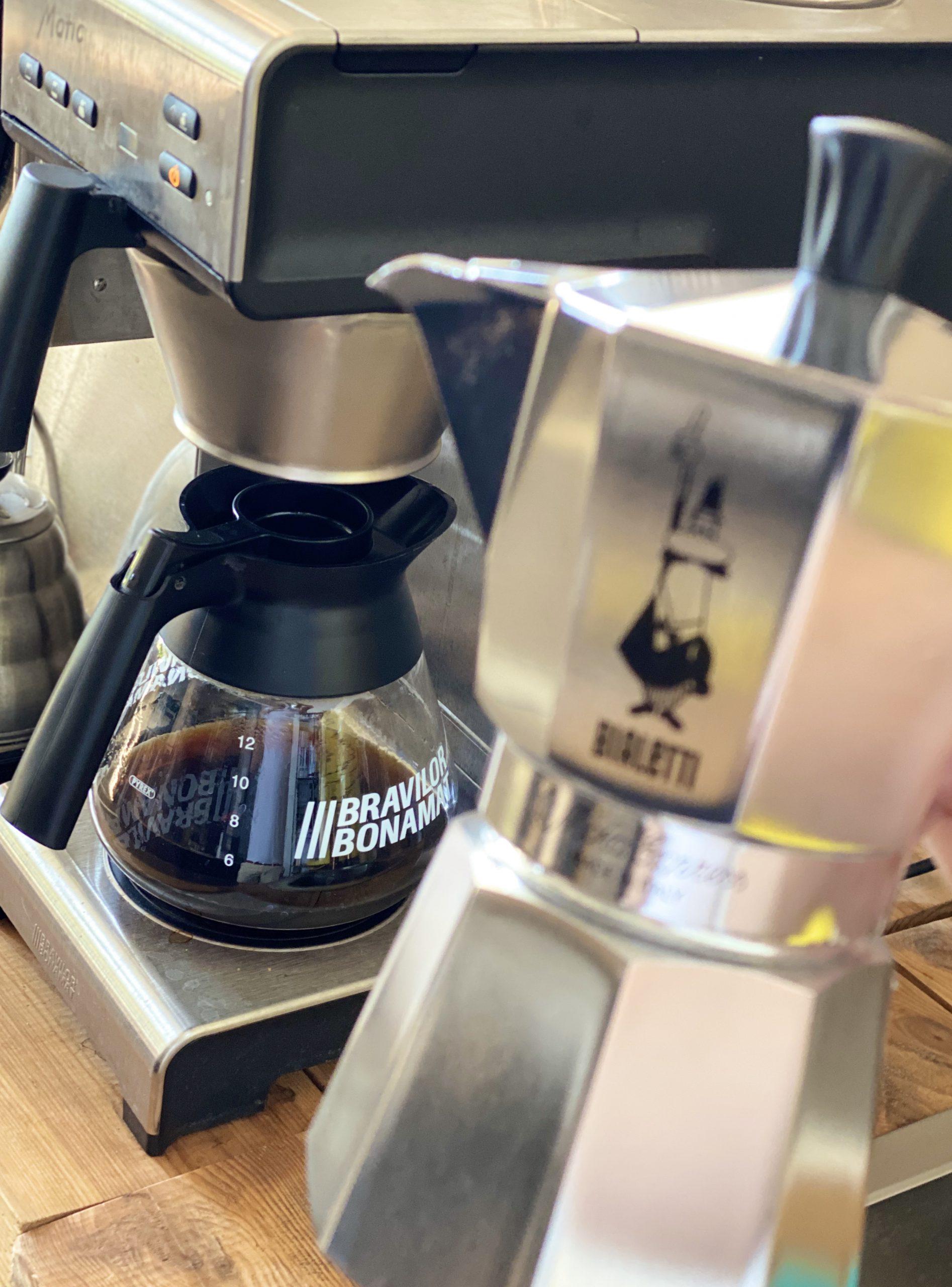 Ekspres przelewowy i kawiarka Coffee Jorueny