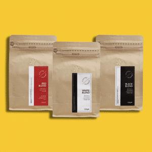 zestaw trzech kaw Coffee Journey